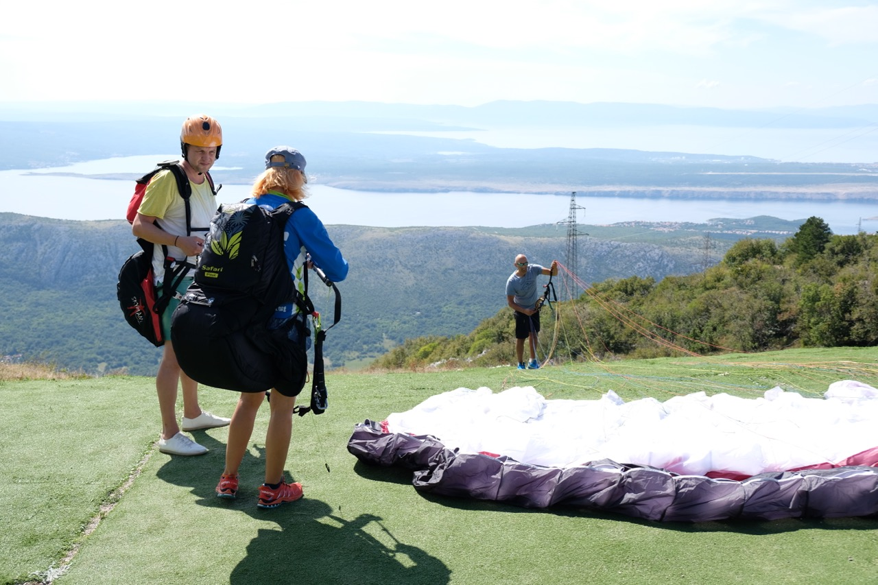 Tandem Paragliding with sea view | Things to do in Croatia